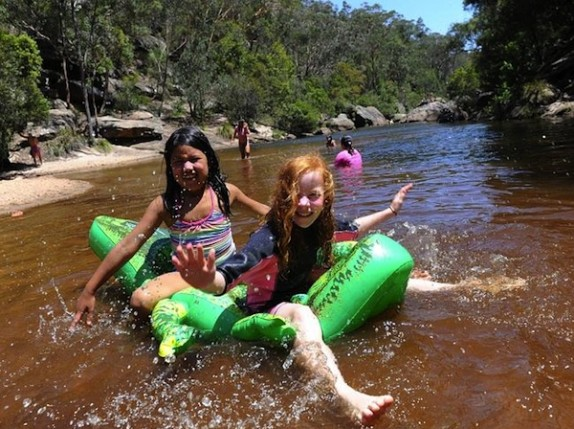 Summer holidays in the Blue Mountains